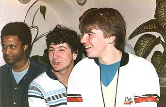 Alex CRAMPONT, Etienne BILLIS et Alain BINSINGER