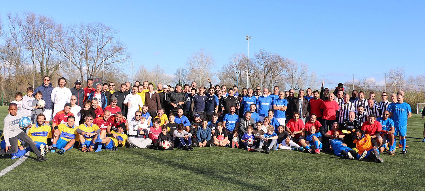 Dix équipes de footballeurs vétérans et quatre de seniors étaient au rendez-vous