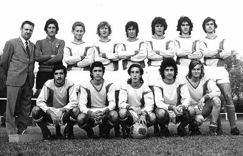 Equipes - Année 1972 / 1973