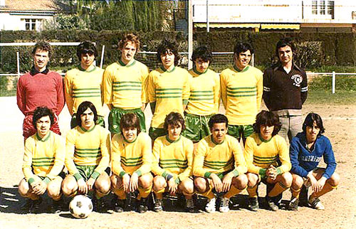 Equipes - Année 1978 / 1979