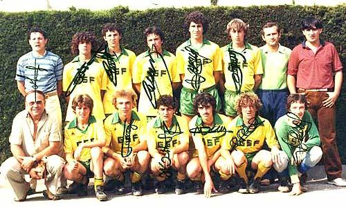 Les juniors de 1981