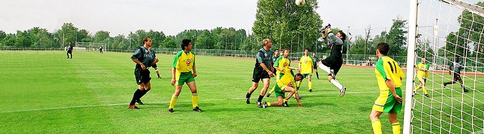Génération Junior - Match avec le football Club variété