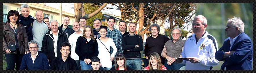 Membres de l'Association Génération Junior sur Mandelieu la Napoule